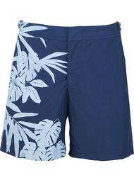 шорты для плавания с тропическим принтом Orlebar Brown