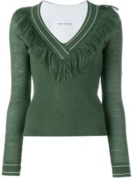 свитер с бахромой Paco Rabanne