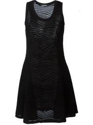 вязаное платье без рукавов  Neil Barrett