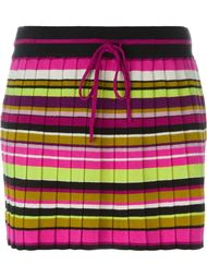 плиссированная полосатая юбка Missoni Vintage