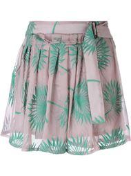 шорты с вышивкой Ann Demeulemeester
