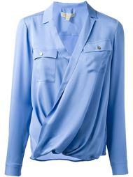 блузка с запахом  Michael Michael Kors