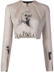 сетчатый пиджак с принтом Dominic Louis