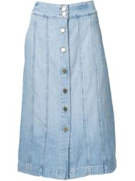 джинсовая юбка 'Le Panel'  Frame Denim