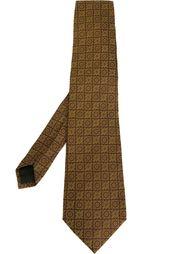 галстук с мелким узором Romeo Gigli Vintage
