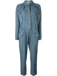 джинсовый комбинезон Fendi Vintage