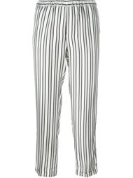 брюки в полоску Alberto Biani