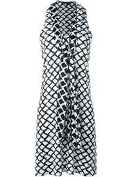 платье с завязкой на горловине Emanuel Ungaro