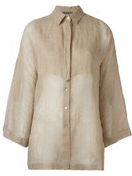 рубашка с рукавами-колокол Alberta Ferretti