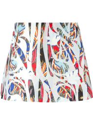юбка с принтом  Antonio Berardi