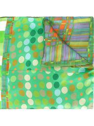 шарф с комбинированным принтом Pierre-Louis Mascia