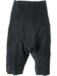 шорты с заниженной проймой и запахом Lost & Found Ria Dunn
