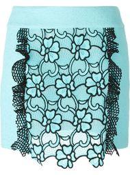 юбка с цветочным узором  Emanuel Ungaro