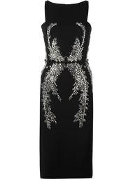 декорированное платье  Antonio Berardi