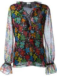 блузка с цветочным принтом   Au Jour Le Jour
