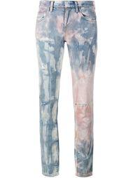 джинсы тай-дай с рваными деталями Faith Connexion