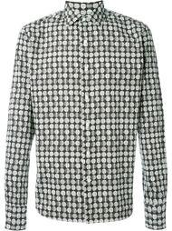 рубашка с геометрическим принтом Gabriele Pasini