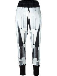 спортивные брюки с принтом Ann Demeulemeester