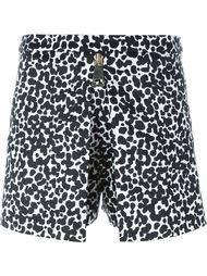 шорты с леопардовым принтом  Boutique Moschino