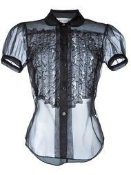 прозрачная рубашка  Comme Des Garçons Girl