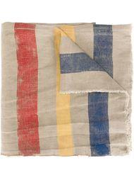 шарф с принтом  Ermanno Gallamini