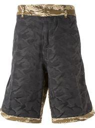 шорты с камуфляжным принтом Golden Goose Deluxe Brand