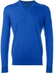 свитер c V-образным вырезом  Ermenegildo Zegna