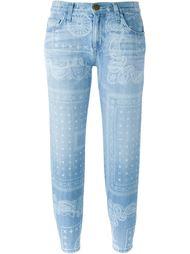 джинсы с принтом пейсли Current/Elliott