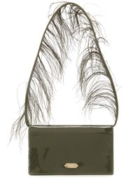 сумка на плечо с перьями Nina Ricci