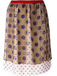 юбка в горошек Kolor