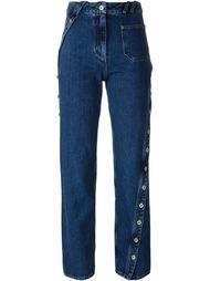 джинсы прямого кроя  Courrèges