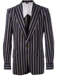 пиджак с полосатым принтом Vivienne Westwood Man