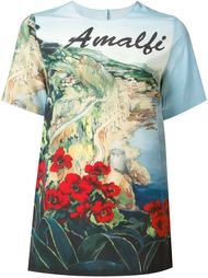 футболка с принтом 'Amalfi' Dolce & Gabbana