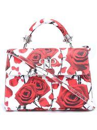 мини сумка-тоут с принтом роз Philipp Plein