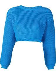 укороченный трикотажный свитер Jeremy Scott