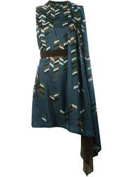 драпированное платье асимметричного кроя Kolor