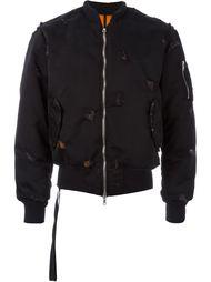 укороченная куртка-бомбер  Unravel