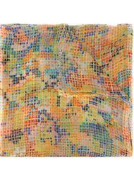 шарф 'Small mosaic'  Faliero Sarti