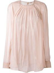 прозрачная блузка Nº21