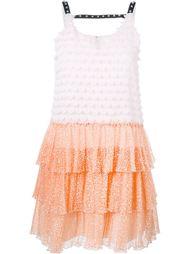 платье с аппликацией  Giamba