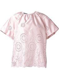 кружевная блузка Rochas