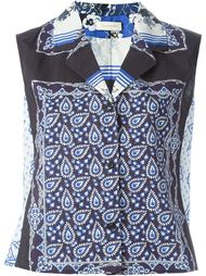 блузка с принтом  Wunderkind