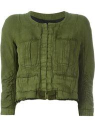 укороченный пиджак с необработанными краями Haider Ackermann