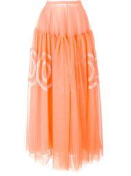 юбка из тюля  Rochas
