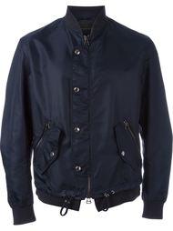 куртка-бомбер на пуговицах Ermanno Scervino