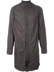 пальто в рабочем стиле Rick Owens DRKSHDW
