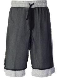 шорты с верхним слоем в сетку Odeur