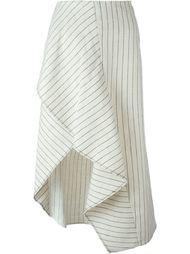 асимметричная юбка в тонкую полоску 3.1 Phillip Lim