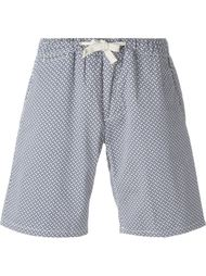 шорты с геометрическим узором  Eleventy