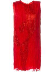 плиссированное платье  Nina Ricci